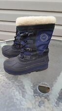 UGG Australia US Size1  Bobbey Boots Youth Kids Girls Boys Midnight Navy Unisex
