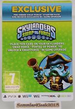 exclusive Bonus Karte - Skylanders Swap Force - Ufo Hut Ufo Hat item RAR RARE