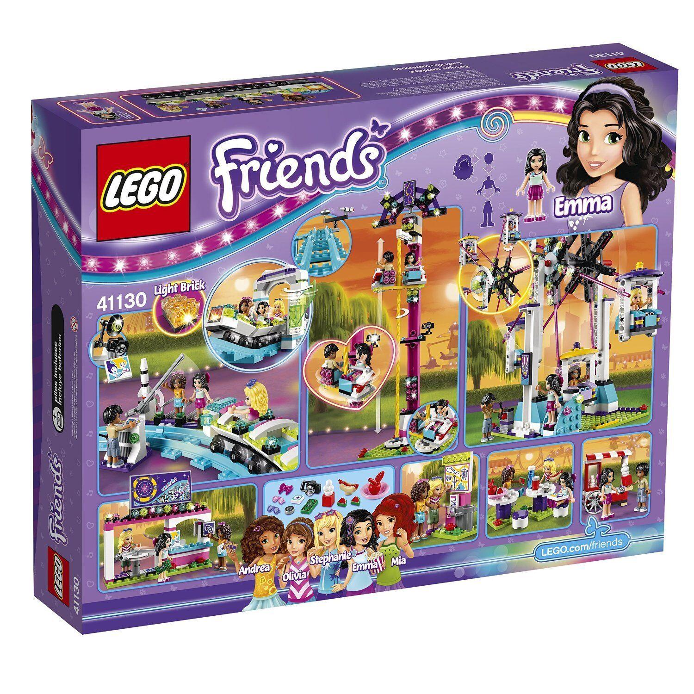 LEGO Friends Parc d'attractions montagnes russes (41130), OPEN BOX