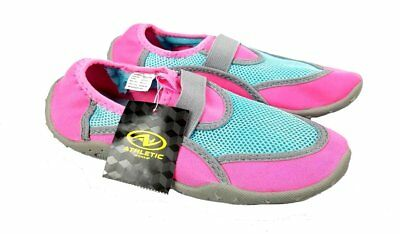 Pink \u0026 Blue Swim Water Shoes Size