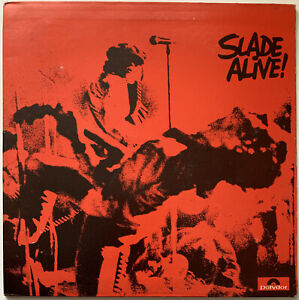 SLADE-ALIVE-LP-POLYDOR-UK-1972-A2-B2-MATRIX-EX-CONDITION-PRO-CLEANED