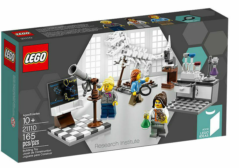 LEGO 2014 Ideas 21110 RESEARCH INSTITUTE 165 pcs MISB