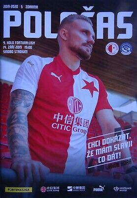 Programm Fanausgabe Tschechien 20.9.2014 Bohemians Praha SK Slavia Praha