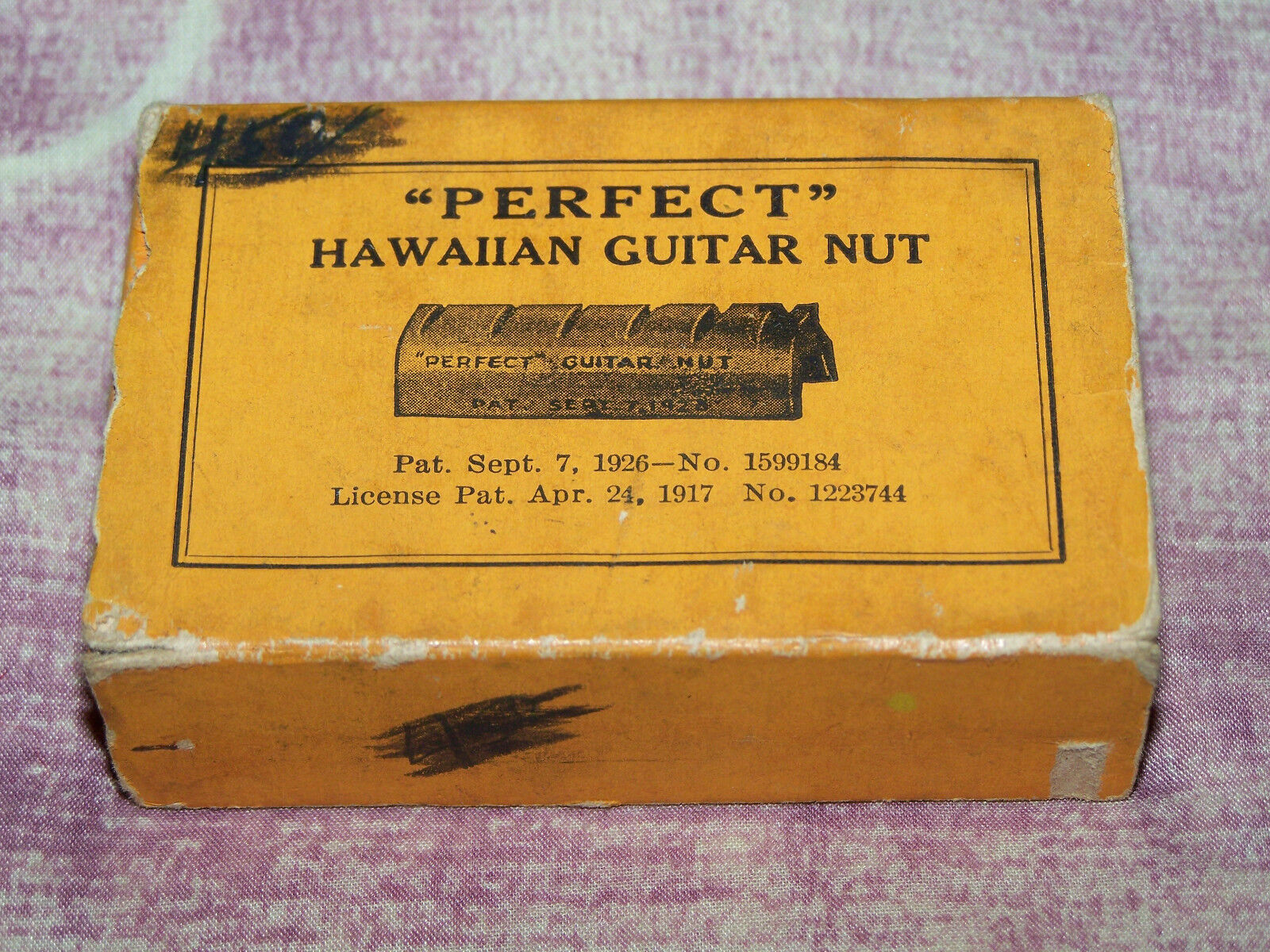 Very Rare 1920`s Perfect Hawaii Guitar Nut Adapter - NOS - Unused Full Box of 12