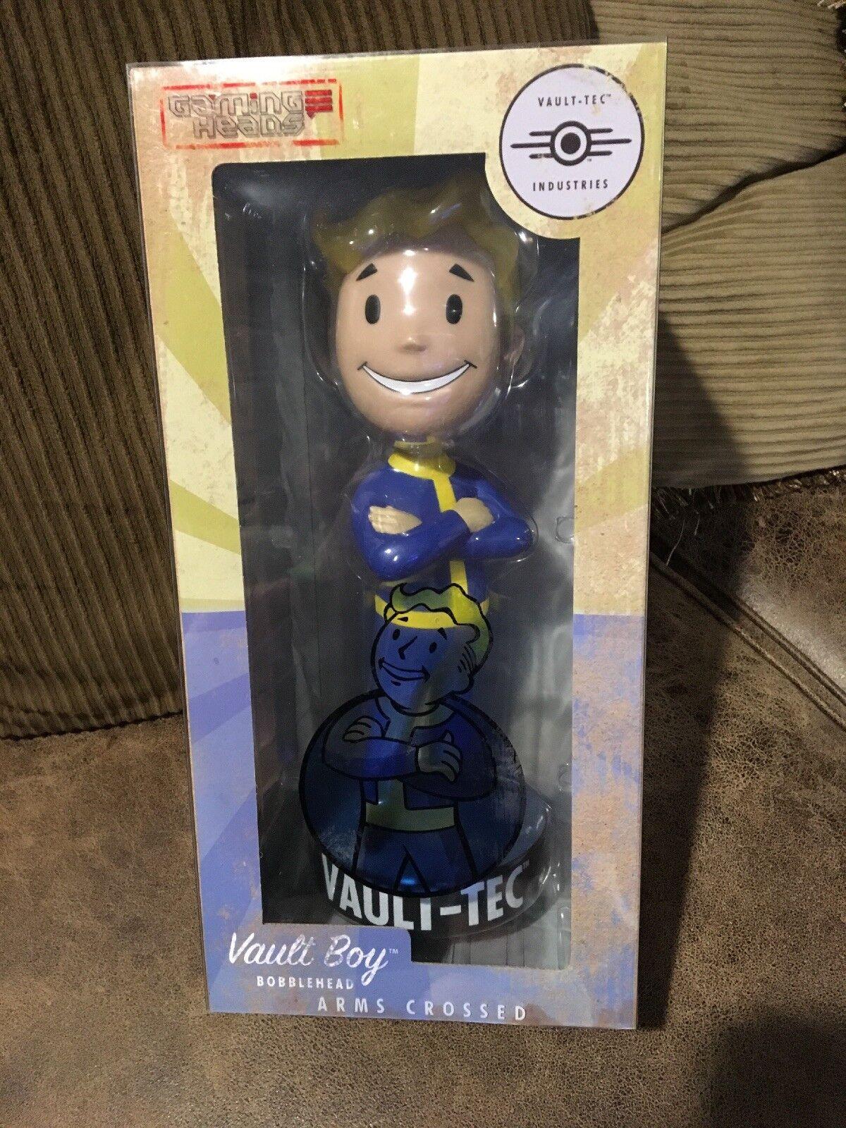 Gaming Heads Fallout 4 Vault Boy 12  ARMS CROSSED Mega Bobblehead Figure NIB