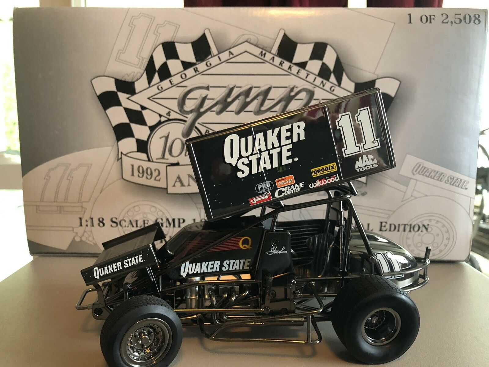 GMP Steve KINSER 10th Anniversary Special Edition  11 Quakerstate Sprint Voiture
