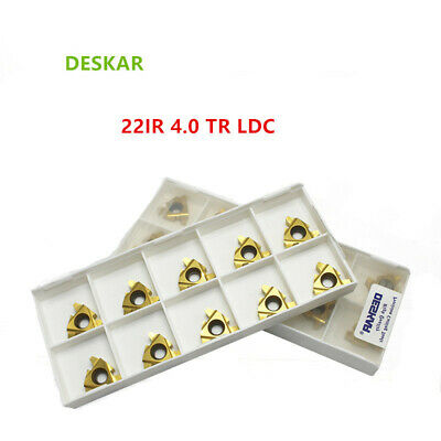 10P 22IR N55 LDA Indexable Insert Threading Blade CNC Carbide Insert For P.M.K
