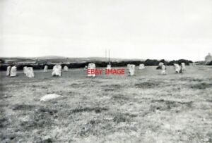 PHOTO-LAMORNA-CORNWALL-MERRY-MAIDENS-STONE-CIRCLE-IN-1961-HAVING-RESEARCHED-THI