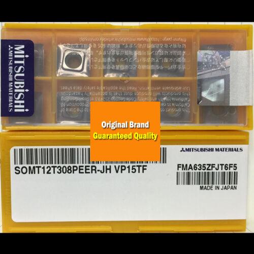 10PCS in BOX Original MITSUBISHI SOMT12T308PEER-JH VP15TF Carbide Insert New