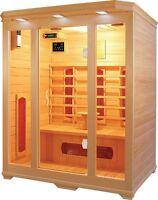 3 Person Premium Infrared Sauna Ceramic Heat Saunas