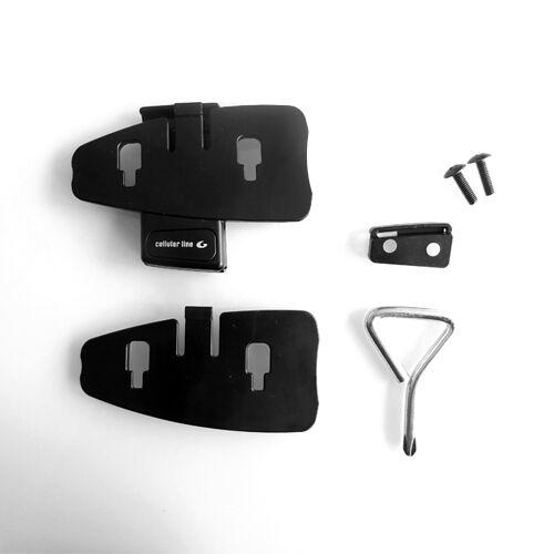 Klebeplatte Schraubplatte SET: Interphone F4,F3,F2 Klebehaltplatte Haltplatte
