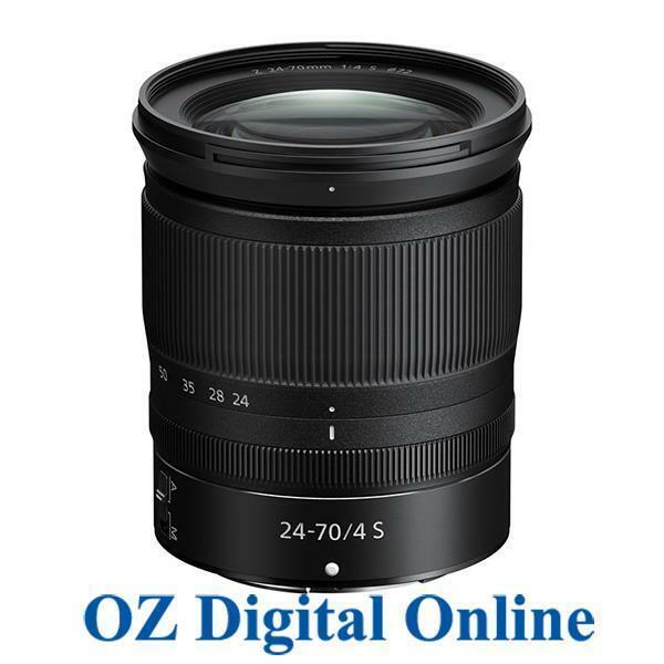 New Nikon NIKKOR Z 24-70mm f/4 S F4 Lens in white box for Nikon Z Mount 1 Yr Wty