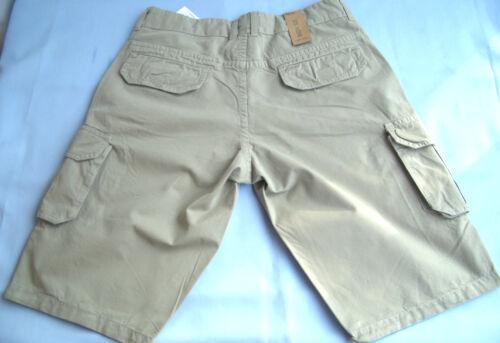 176 BIG UVP 35,95 €  NEU 128 BIG LEMMI Boys Bermuda  beige  Gr