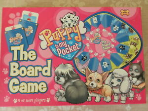 Puppy-in-my-pocket-the-board-game-MEG-2007-complete-Box-in-good-condition