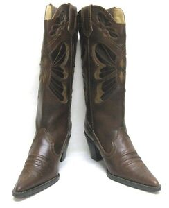 42980c08f55 Details about WOMEN'S WESTERN POINTY TOE RODEO COWGIRL COWBOY 2.5