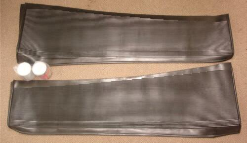 1933 1934 Ford Car Rubber Running Board Covers Cover Set 33 34 PAIR w// Glue