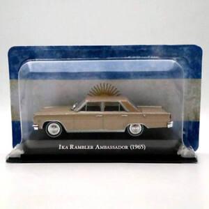 Ixo-Altaya-1-43-IKA-Rambler-Ambassador-1965-DIECAST-models-Toys-Car