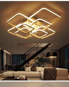 Rectangle-Ceiling-Light-Led-Lamp-Modern-Living-Room-Bedroom-Aluminum-Chandelier