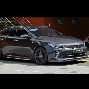 Details About Front Lip Side Skirts Body Kit Unpainted For Kia All New Optima K5 2016 2017
