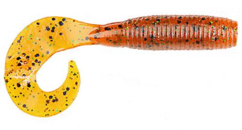"""Gary Yamamoto Single Tail Grub 4/"""" 20pk Soft Plastic Bass Fishing Creature Bait"""