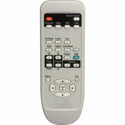 Remote Control for Epson Projector EX3210 H314A EMP-51C Powerlite 51C ReplaceREP