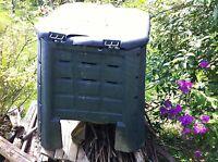 grauer Komposter - 360 Liter aus Kunststoff - gebraucht