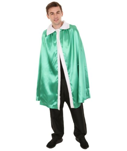 Details about  /Adult Men/'s King/'s Reversible Robe Green and Black Costume HC-818