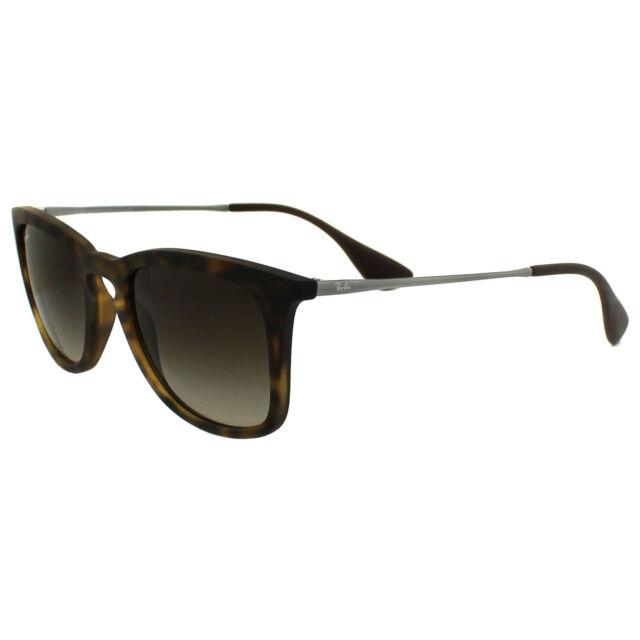 37e0ebaede Ray-Ban Unisex Sunglasses Havana Torte Rubber Brown Gradient 4221 ...