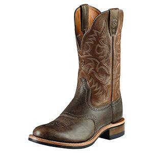 ARIAT-Men-039-s-Barkly-Ironbark-Boots-Camel-Brown-10009480-New