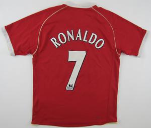 d0ec253a47 Image is loading Manchester-Utd-2006-07-Cristiano-Ronaldo-shirt-camiseta-