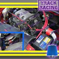 97 98 99 00 01 02 03 Chevy Malibu 3.1 3.1l V6 Cold Air Intake Kit Red Blue 2p