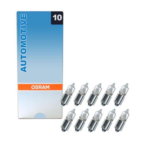 10x Genuine Osram Original 12v Clear Halogen Car Bulbs Multi-Pack