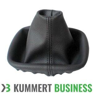 Schaltsack-Schaltmanschette-Echt-Leder-fuer-Fiat-Panda-169-Farbe-Schwarz