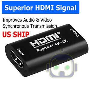 4K-2K-3D-HDMI-Cable-Signal-Repeater-Extender-Amplifier-Booster-up-to-40M-A309