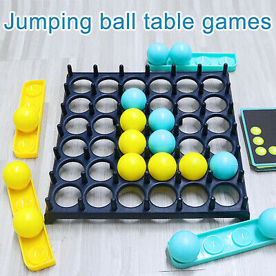 Details about  Board Traditional Games Bounce Off Activate Ball Game Party Desktop Bouncing Toy