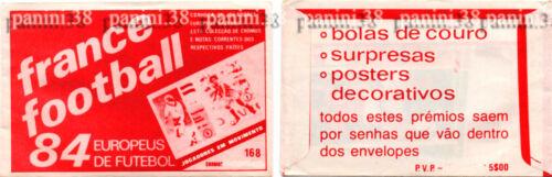 "packet ULTRA RARE ! Pochette /""FRANCE FOOTBALL EURO 84/"" bustina tüte NO PANINI"