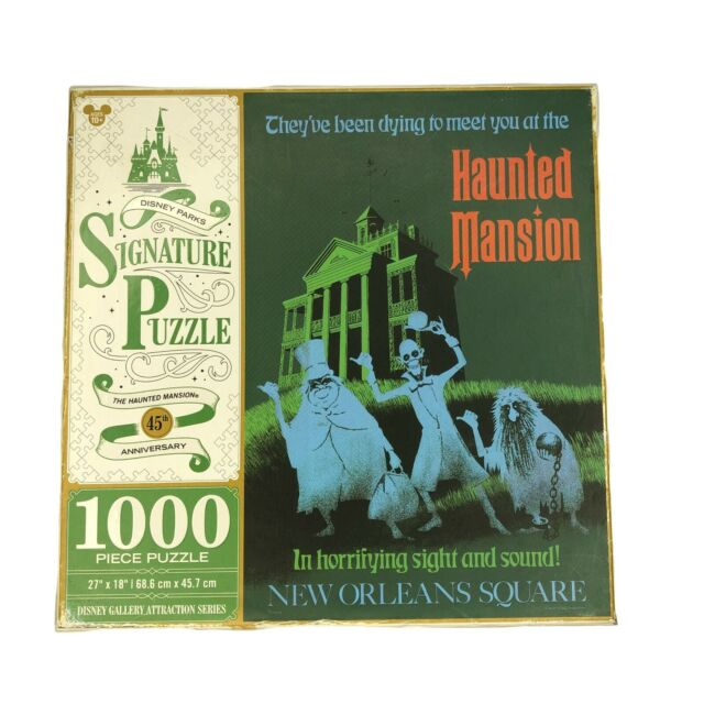 Haunted Mansion Jigsaw Puzzle