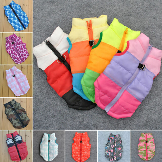 Dog Cat Coat Jacket Pet Supplies Clothes Winter Apparel Clothing Puppy Costume
