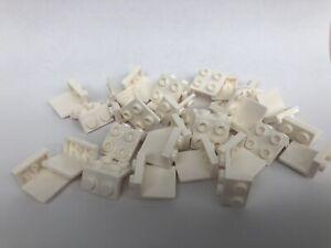 Lego-30-X-weiss-1x2-2x2-Winkel-Platte-44728-6117940-Halterung-Traeger-Halter-NEU