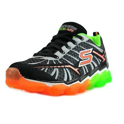 Street Heights Trainers Boys Memory Foam Hi-Top Shoes 93879L Skechers Maddox
