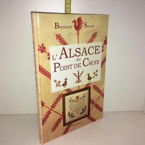 Bertrand-Senart-L-039-ALSACE-AU-POINT-DE-CROIX-Est-Libris-2003-TBE-Broderie-YY-13565