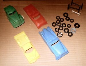 LOT CARS TRUCK AND TIRES  VINTAGE PARTS FOR COLLECTOR