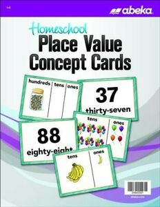 Abeka-Homeschool-Place-Value-Concept-Cards-Grades-1-2-New-Edition