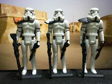 5 Custom Vintage Star Wars Shadow Blackhole Stormtrooper Army Trooper Builder