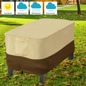 Details About 420pu Waterproof Lounge Patio Coffee Table Dust Cover Garden Furniture Protector