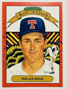 1990 Donruss Nolan Ryan King Of Kings Error Card #659 Wrong Back Texas Rangers
