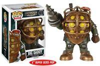 Pop Games: Bioshock Big Daddy - 65 Vinyl Figure 6 Inch Take-two Interactive