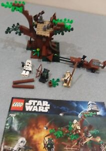LEGO-Star-Wars-Ewok-Attack-7956-NO-BOX-INCLUDED-99-complete