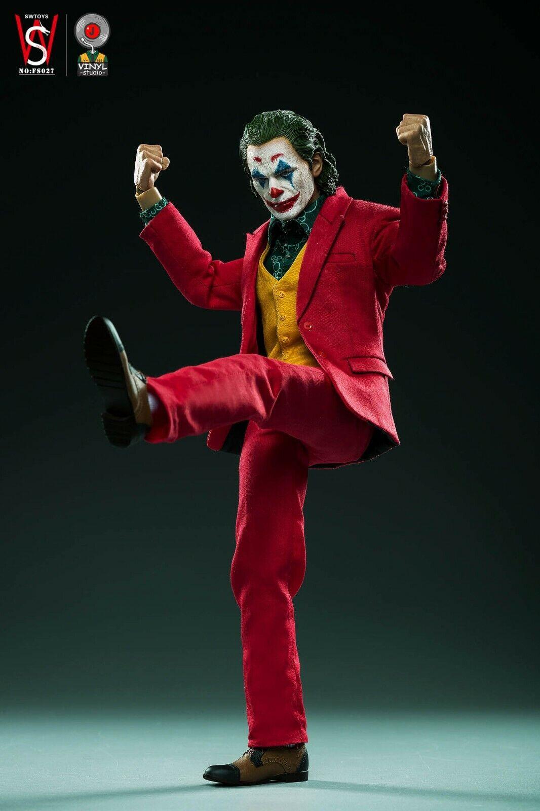 SWTOYS FS027 1//6 Joker Clown Joaquin Accessories Figure Set Studio-v003 VINYL