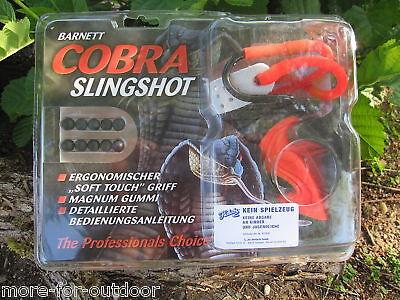 Pietra Centrifuga Zwille Flitsche Barnett Cobra + 150 Palline Di Metallo-